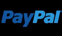 PayPal logo na Eroticgo