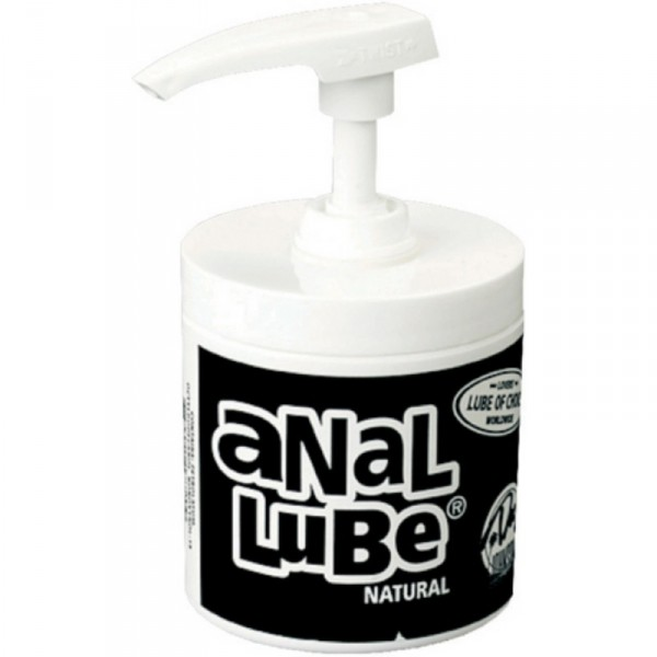 Anal Lube Natural in Pump Dispenser 4.75oz
