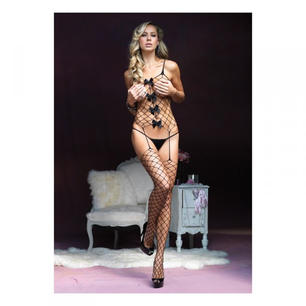 Net Suspender Bodystocking