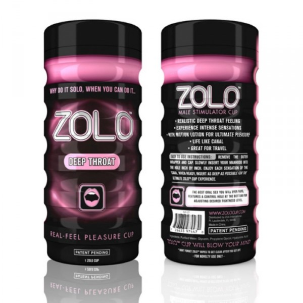 Zolo Deep Throat Cup Pink