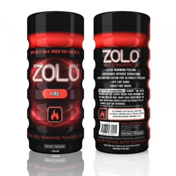 Zolo Fire Cup Red
