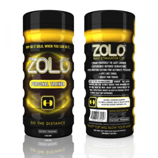 Zolo Personal Trainer Cup Yellow