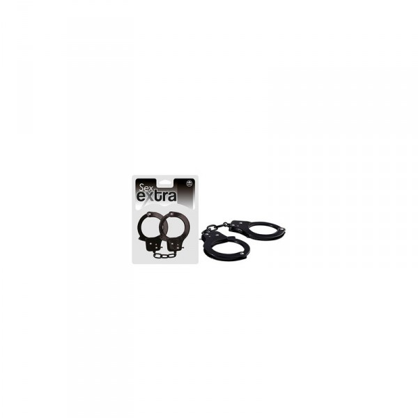 SEX EXTRA METAL CUFFS BLACK