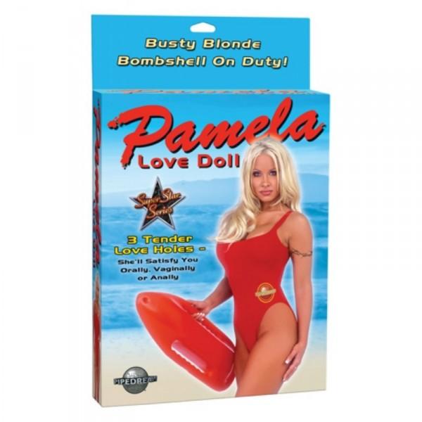 Pamela Full Size Love Doll with 3 Penetrating Holes ~ Flesh