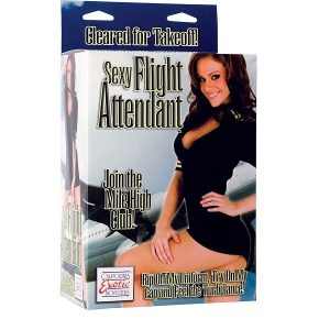Sexy Flight Attendant Love Doll lalka stewardessa