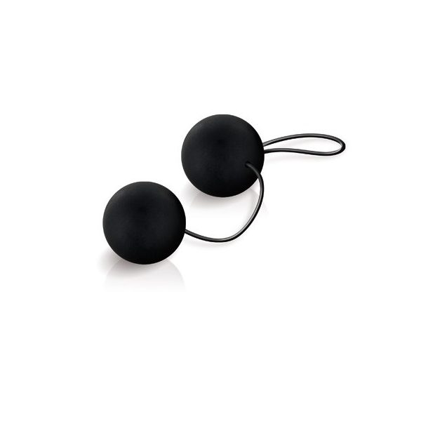 kulki orgazmowe SILKY SMOOTH DUO BALLS BLACK